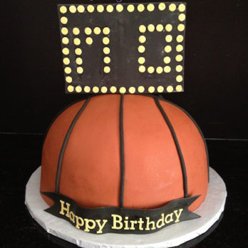 Basketball Cake CraziCakes Nashvilles Best Wedding 3D Custom