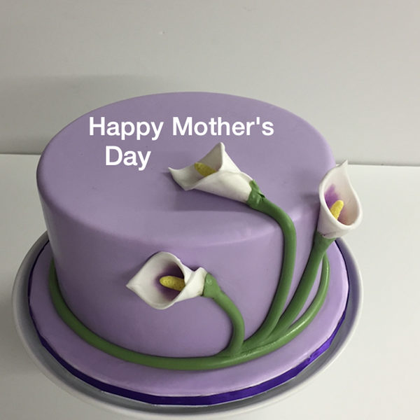Calla Lilies Cake CraziCakes Nashvilles Best Wedding 3D