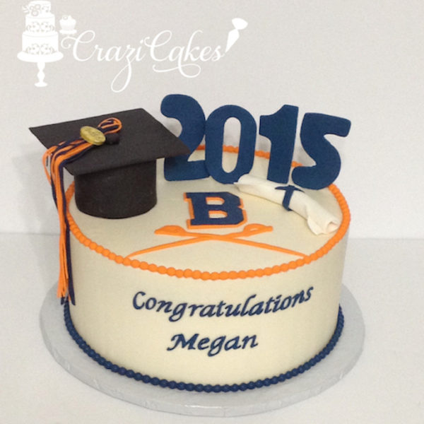 Graduation Cake CraziCakes Nashvilles Best Wedding 3D Custom