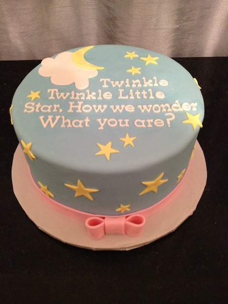 Gender Reveal Cake CraziCakes