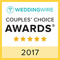 Couple's Choice Award 2017 WeddingWire